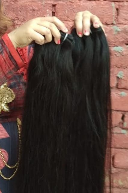 Steam Straight  Human Hair