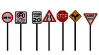 Metal Signage Mast