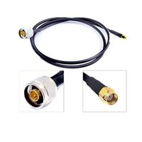RF Cable SMA Male To N Type Male Antenna Pigtail Cable RG58U 50CM