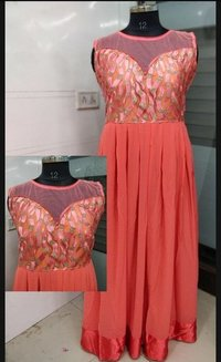 Fancy georgette Gown