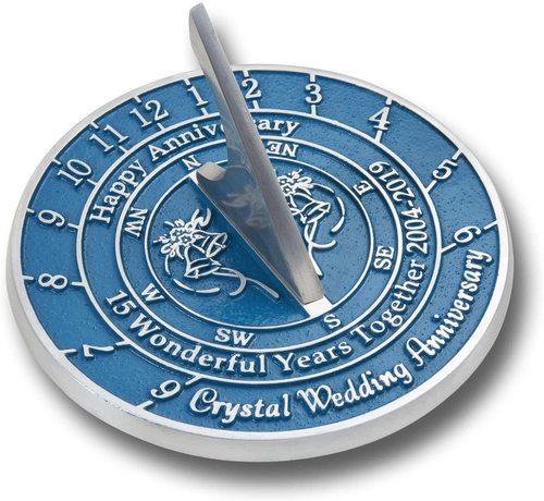 NauticalMart Handmade Wedding & Anniversary Sundial Gift