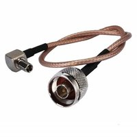 Coaxial Cable With N Connector Male To TS9 Plug Right Angle