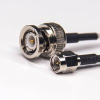 BNC Connector Cable Straight Male To SMA Straight Male Coaxial Cable With RG316