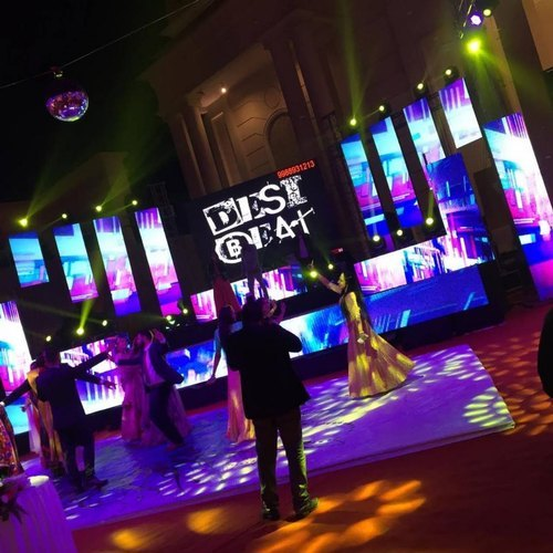 Background DJ Stage Led Screen