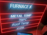 Temperature Monitoring Display