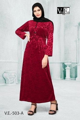 Fancy Velvet Gown