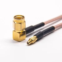 MMCX To SMA Cable MMCX Male Straight To SMA Straight Male Coaxial Cable With RG316