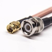 RF Cable Aassembly SMA To BNC Coaxial Cable SMA Straight Male RP To BNC Straight Male With RG142