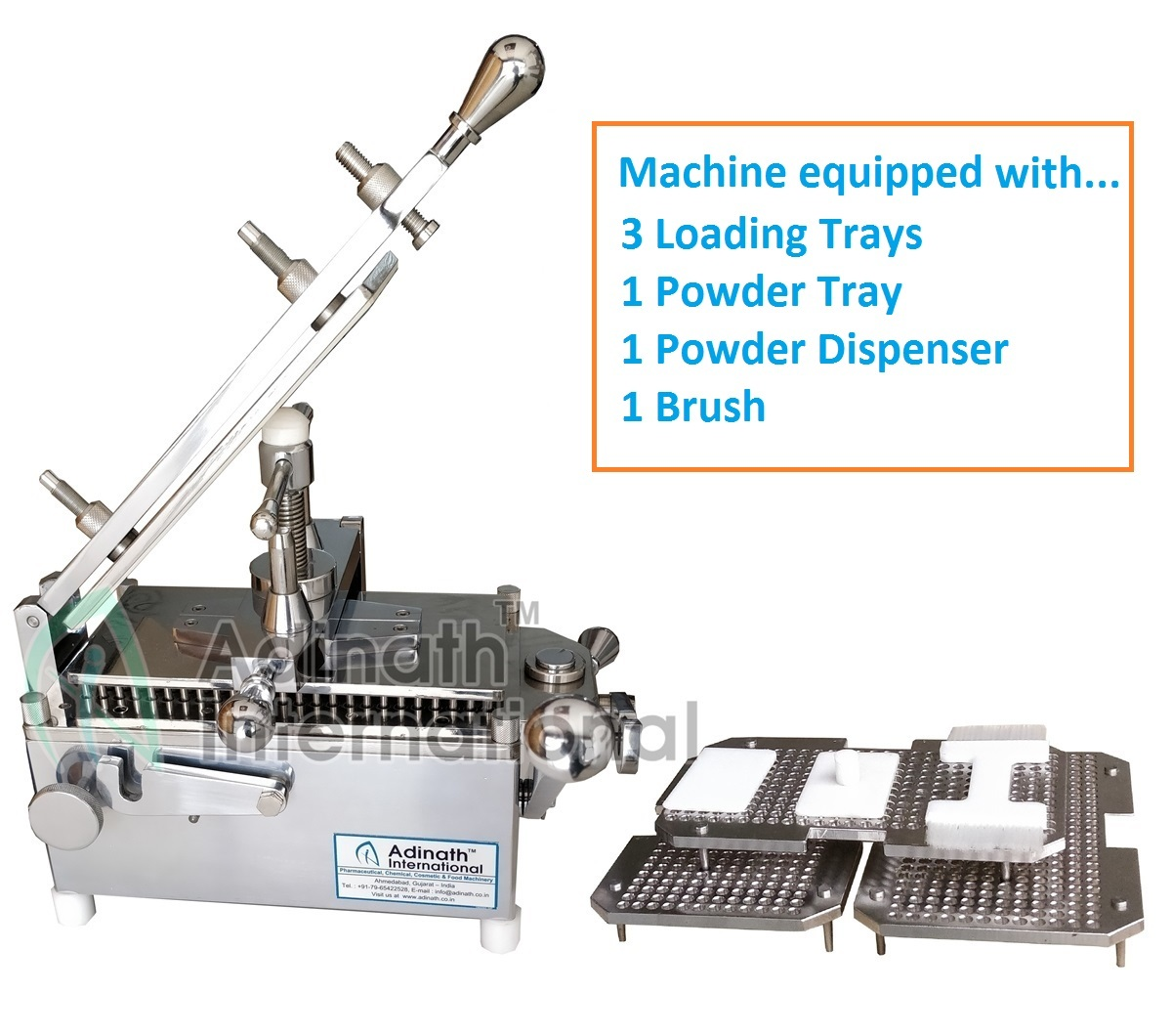 Manual Capsule Filling Machine