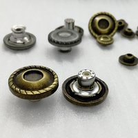 18mm Classic Center Design Active Bottom Alloy Button for Shirt/Clothing/Jeans HD42-19