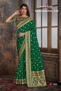 100% pure silk paithani saree