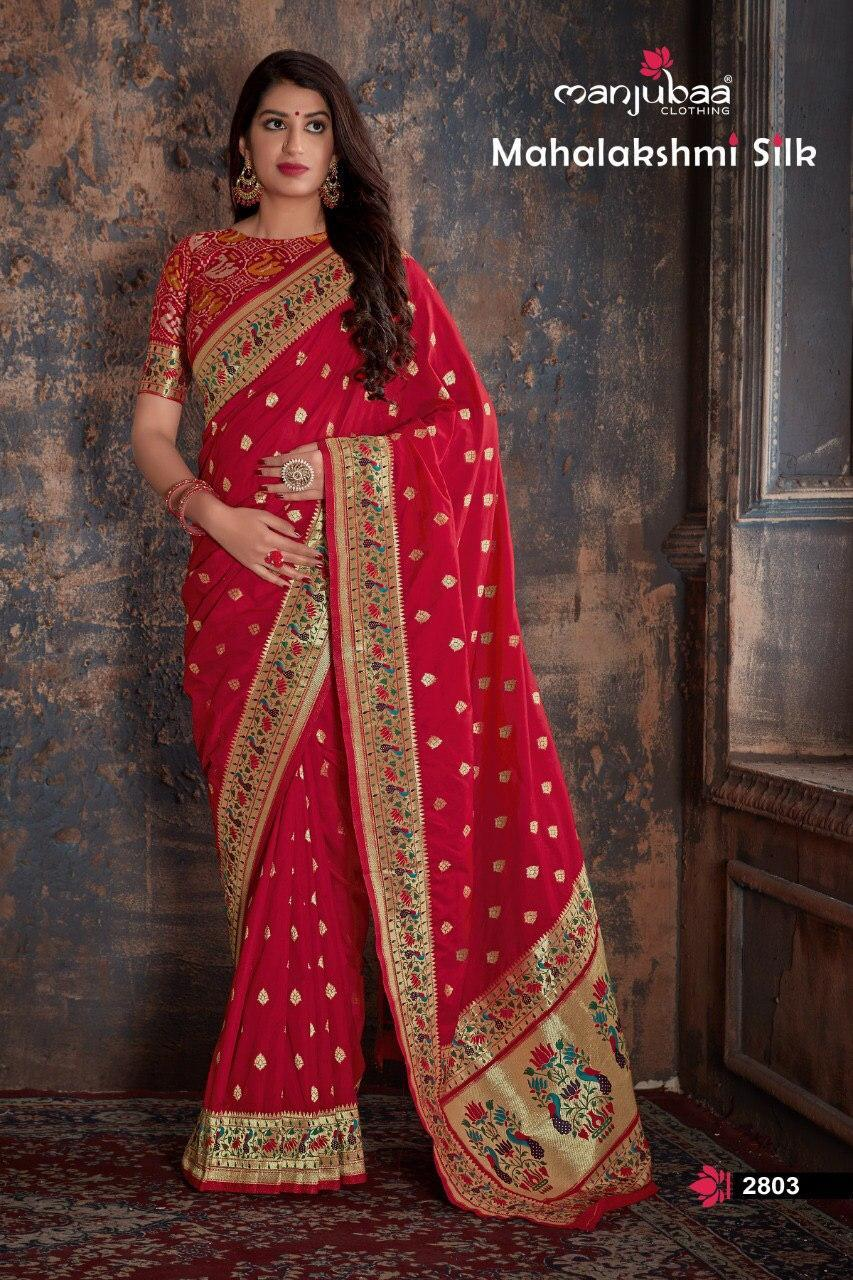 100% pure silk paithani saree