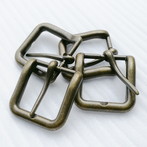 High Quality Vintage Metal Zinc Alloy Silver Pin Belt Buckle (Hd429-19) Gender: Unisex