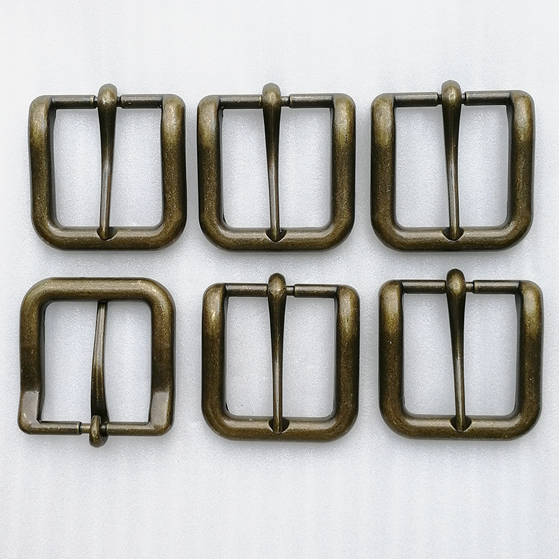 High Quality Vintage Metal Zinc Alloy Silver Pin Belt Buckle (HD429-19)