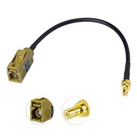 Fakra To SMB Cable Female Fakra K To SMB Female Antenna Extension Cable RG174