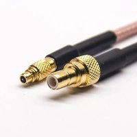 MMCX Straight Female To SMB Straight Female Coaxial Cable With RG316