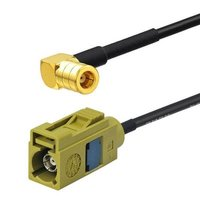 RF Cable Antenna Extension Cable Fakra Female K Code To SMB Female Right Angle RG174 15CM