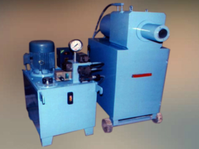 Rebar forging machine