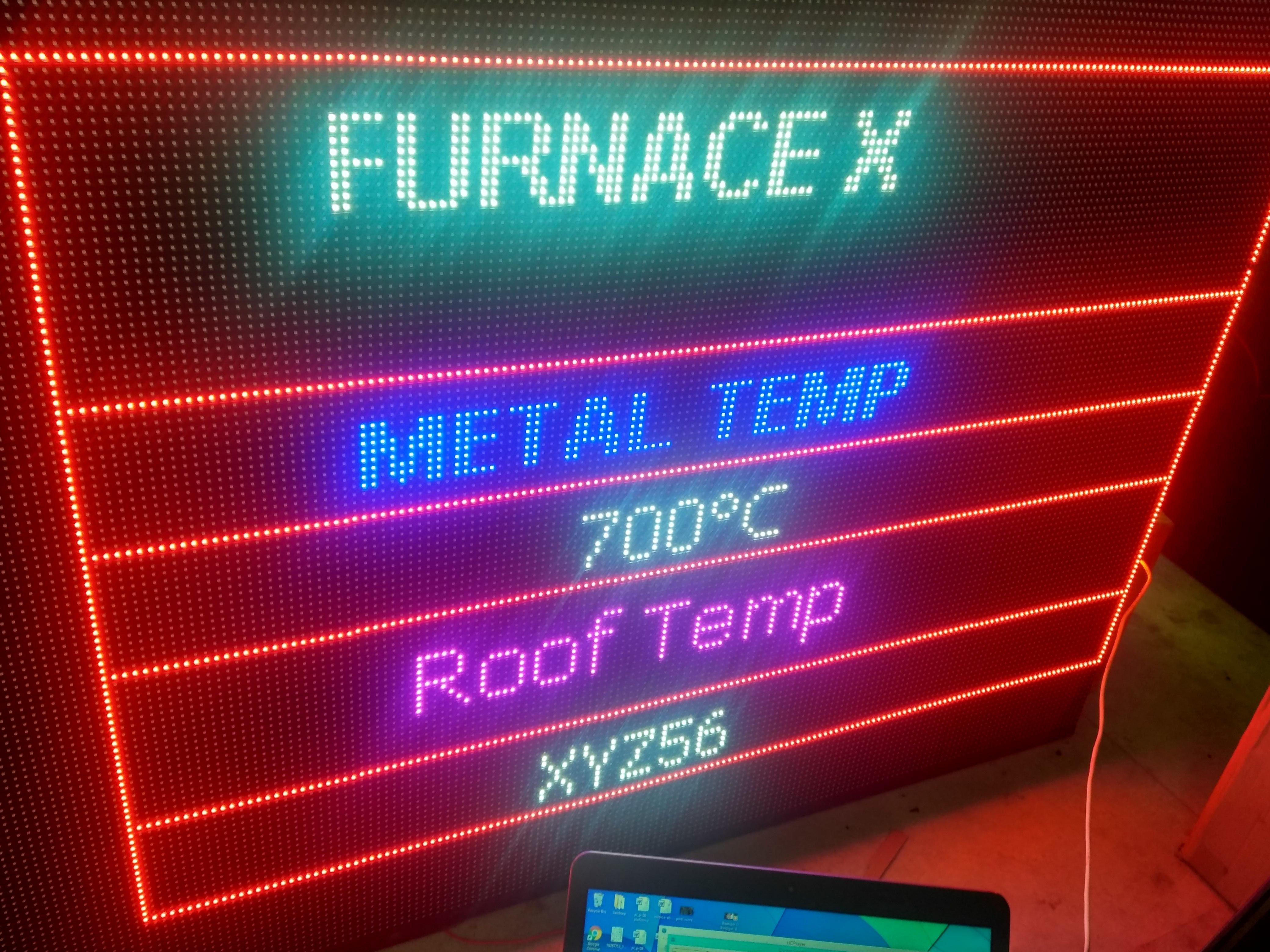 Static LED Display