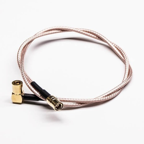 SMB Cable To Connect Right Angle SMB Male To Straight SMB Male Cable Assembly With RG179