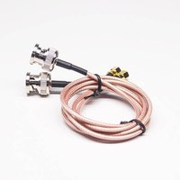 BNC To Cable Adapter With SMC Male RG316 Assembly 50cm