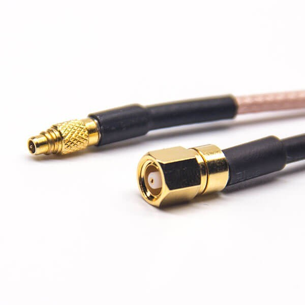 MMCX Connector Straight Male To SMC Straight Female Coaxial Cable With RG316