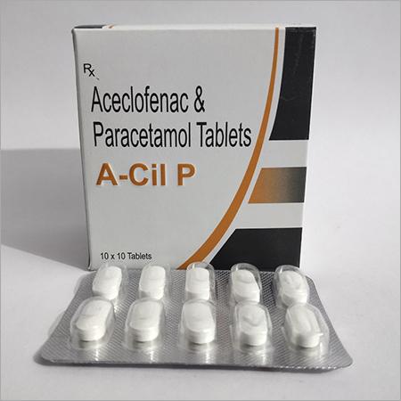 ACECLOFENAC PARACETAMOL (A-CIL P)