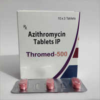 Azithromycin 500 Mg ( Thromed-500 Tab )