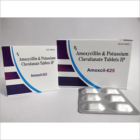Amoxicillin 500mg + Clavulanic Pottassium 125mg ( Amoxcil-625 )