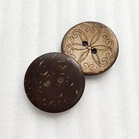 Natural Button Eco-Friendly Coconut Button HD00C1