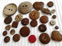 Natural Button Eco-Friendly Coconut Button HD00C1