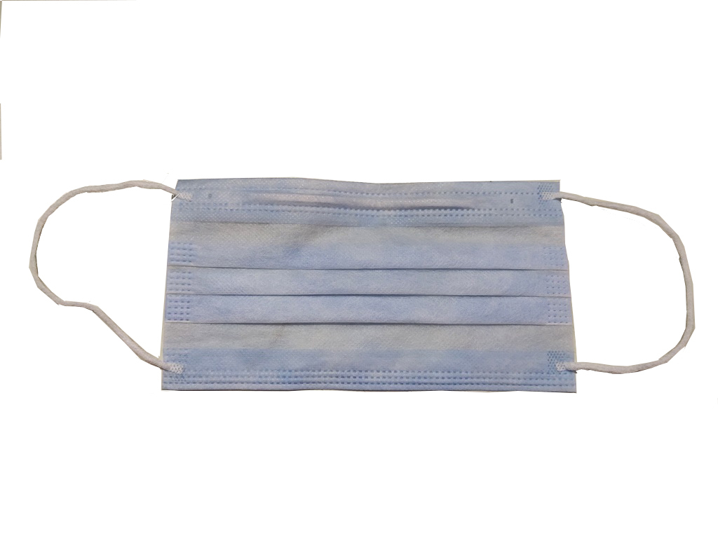 Surgical Mask Non Woven 3 Ply with Nose Clip