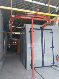 Commercial Powder Coating Plant