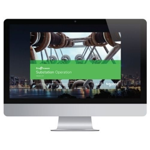 Schneider EcoStruxure Substation Operation SUI Graphical User Interface