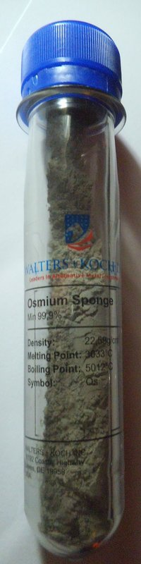 Osmium Sponge Powder