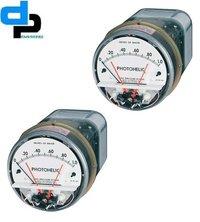 Dwyer A3000-100CM Photohelic Pressure Switch Gauge Range: 0-100 cm w.c.