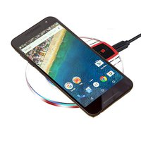 pTron Jasper Charging Pad, Slim Wireless Charger for Mobiles