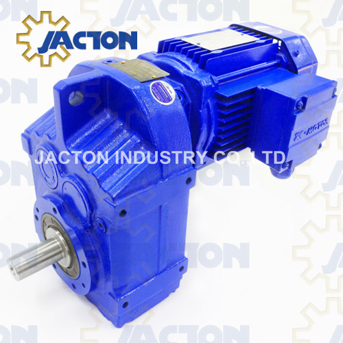 F series Parallel Shaft Helical Gearmotor