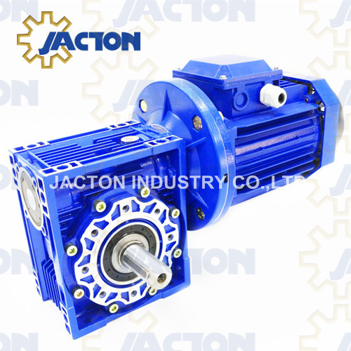 Worm Gearbox Reducer with Motor