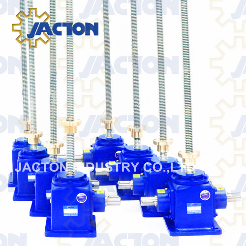25KN Bevel Gear High Speed Screw Jack