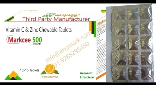 Vitamin C And Zinc Tablets