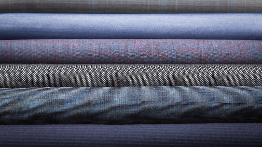 Polyester Wool Suiting Fabric
