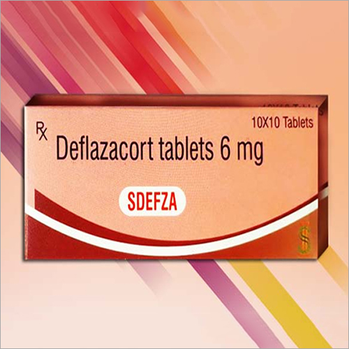 6 mg Deflazacort Tablets