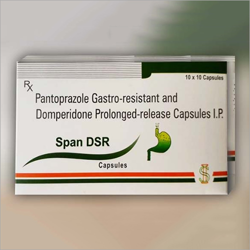 Pantoprazole Gastro Resistant And Domperidone Prolonged Release Capsules IP