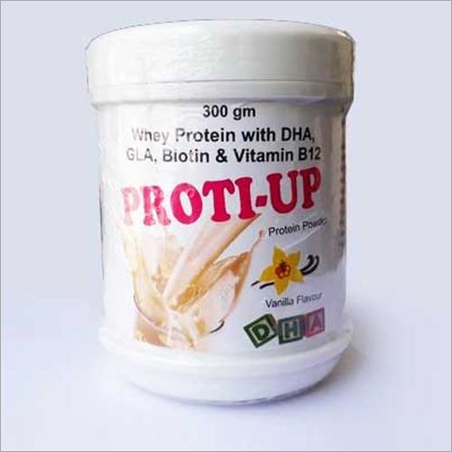 300 gm Whey Protein With DHA GLA Biotin And Vitamin B12 Powder