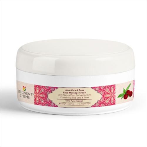 Aloe Vera and Rose Face Massage Cream