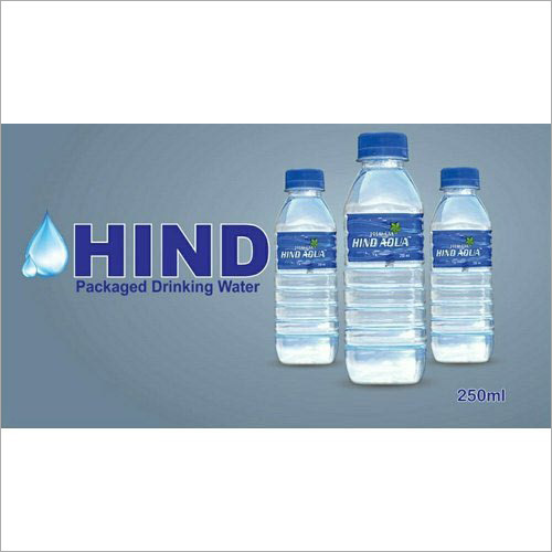 250 Ml Hind Packaged Drinking Water Bottle