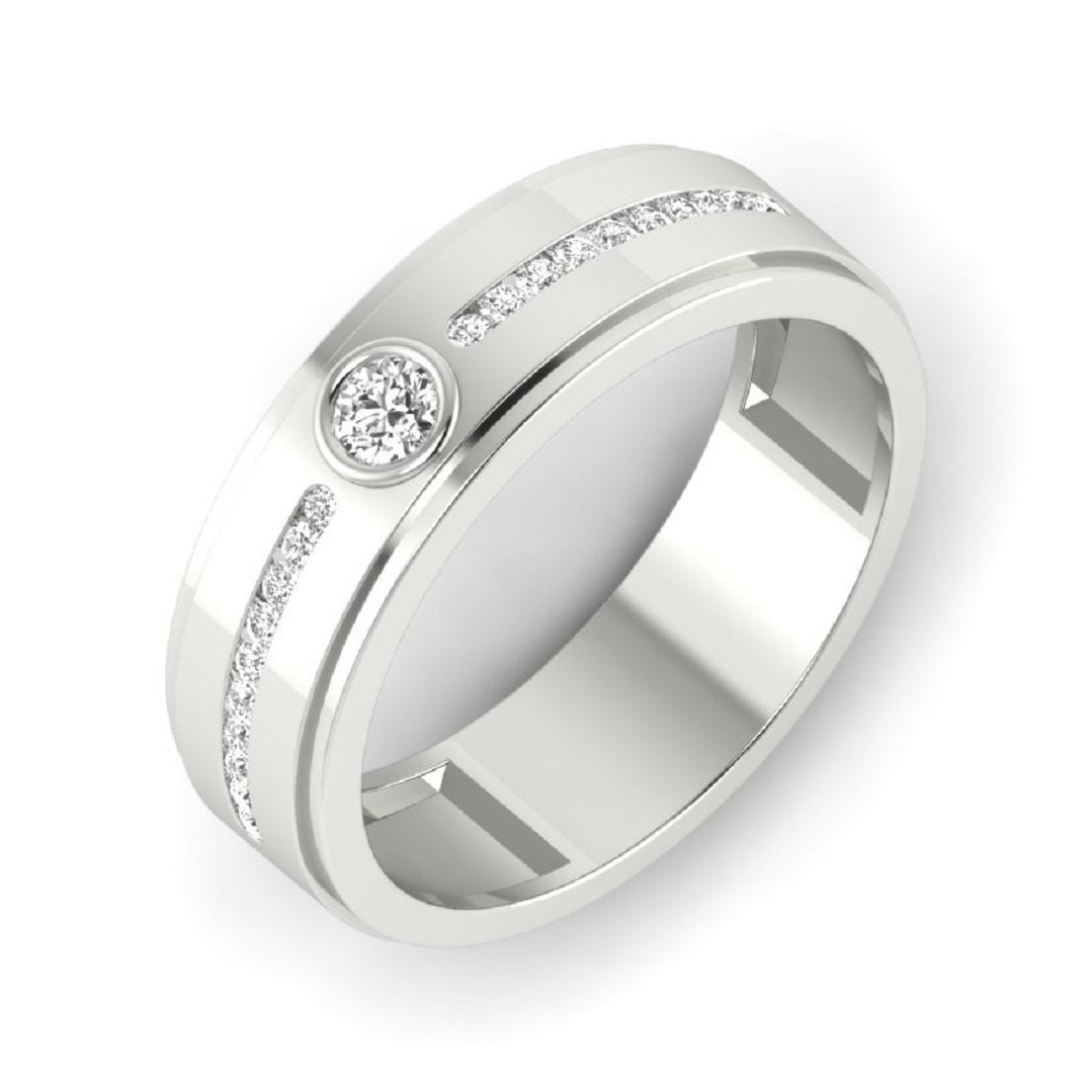 Studded Men Silver Rings