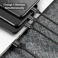 pTron Swing 3-in-1 2.0A USB Charging Cable for All Smartphones