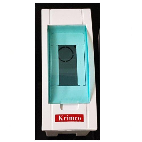 2 Pole Plastic Glass Door MCB Box